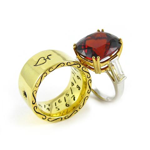K. Brunini Jewels Body Armor bridal jewelry