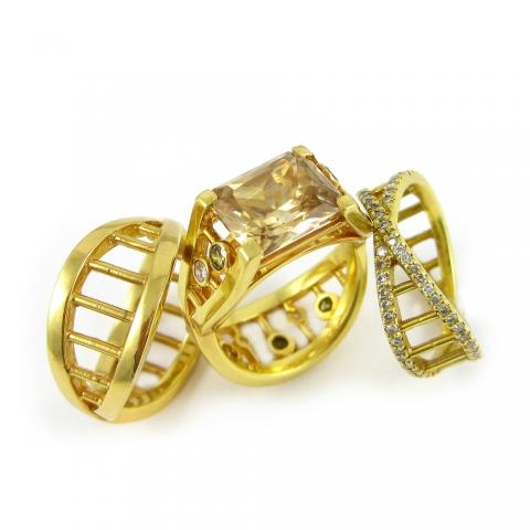 Alternative diamond engagement rings