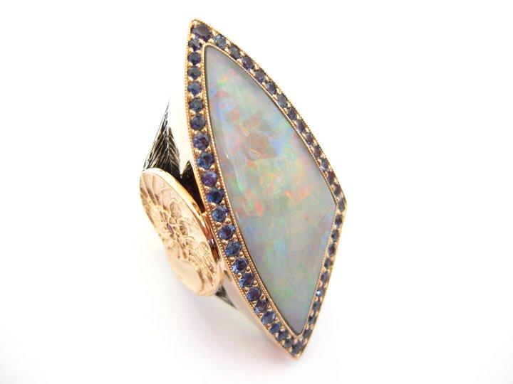 Organic fine jewelry designer
