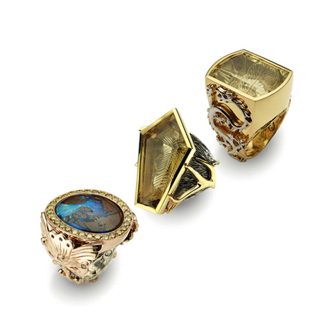 Unusual designer jewelry